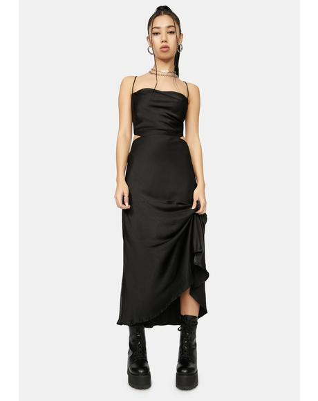 Pushing It Midi Dress