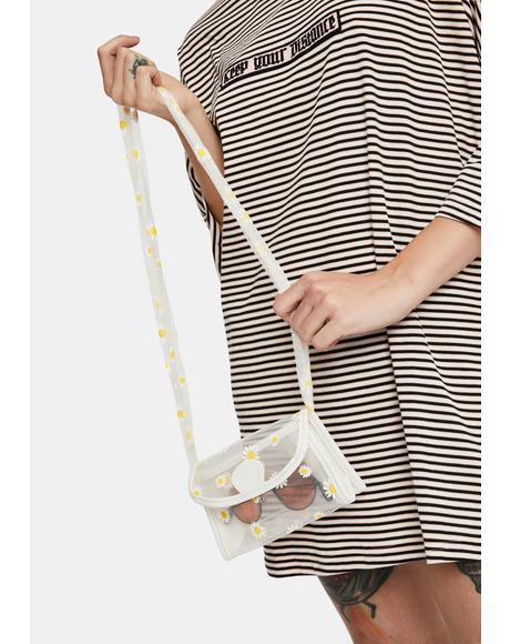 Pearl Daisy For U Crossbody Bag