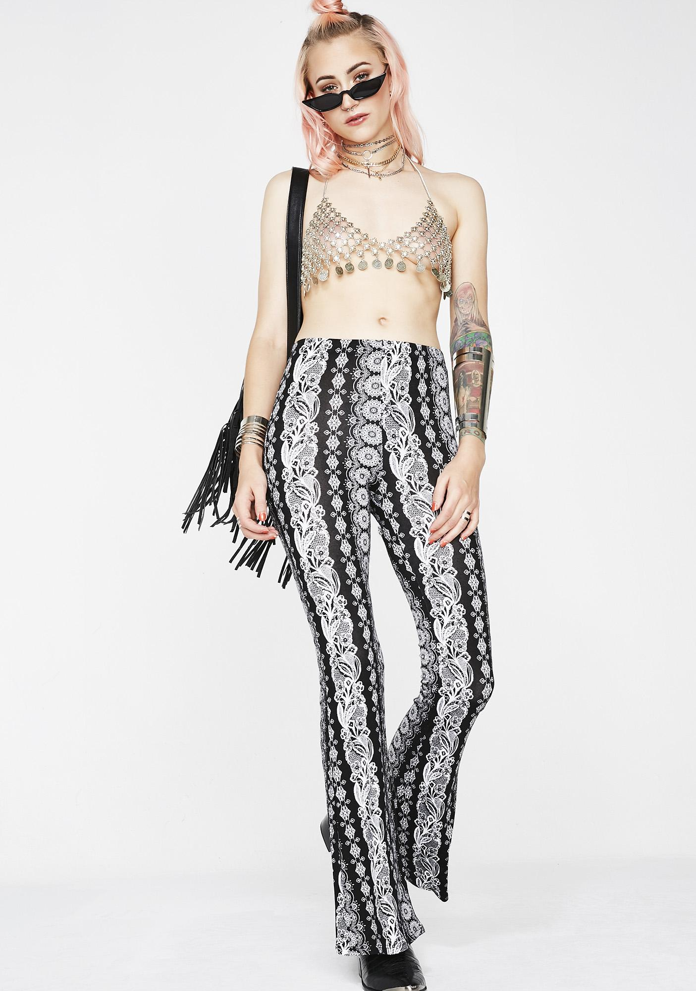 Midnight Haze Printed Pants