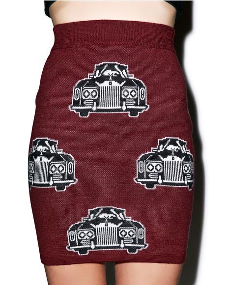 Royal Ride Mini Tube Skirt