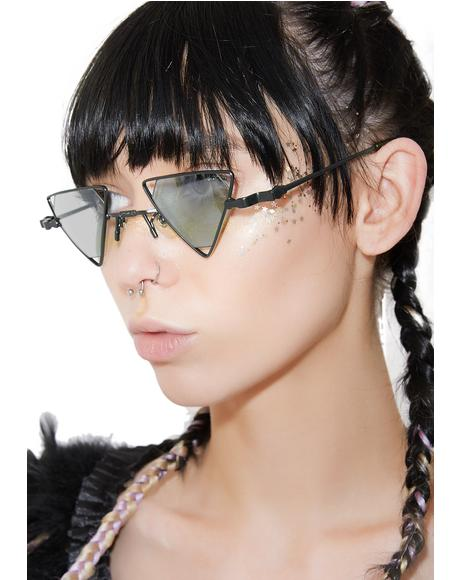 Trilogy Triangle Sunglasses