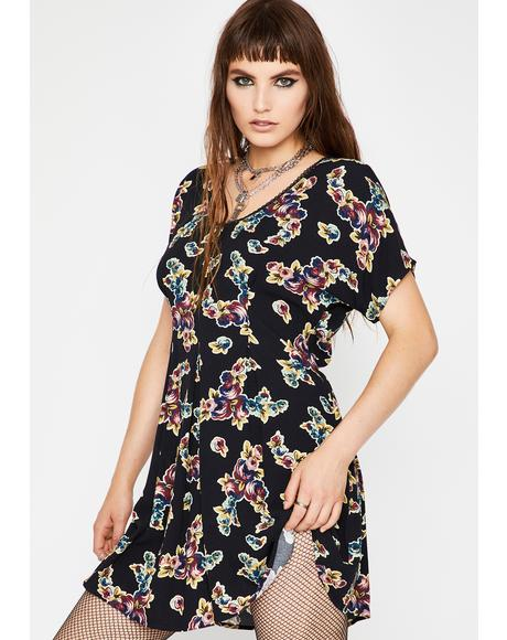 Fall To Pieces Babydoll Dress