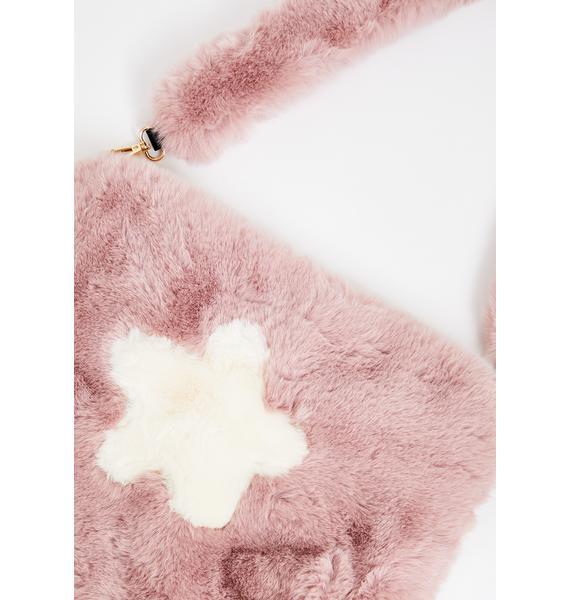 Stargazer Furry Crossbody Bag