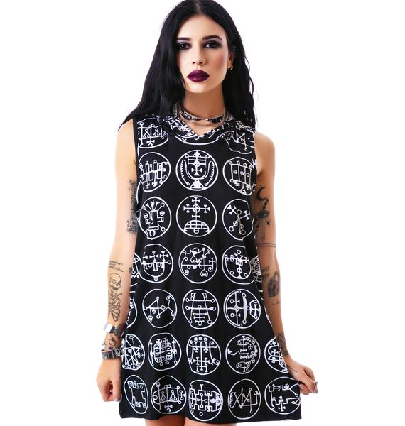 Killstar Goetia Hood Tank Dress