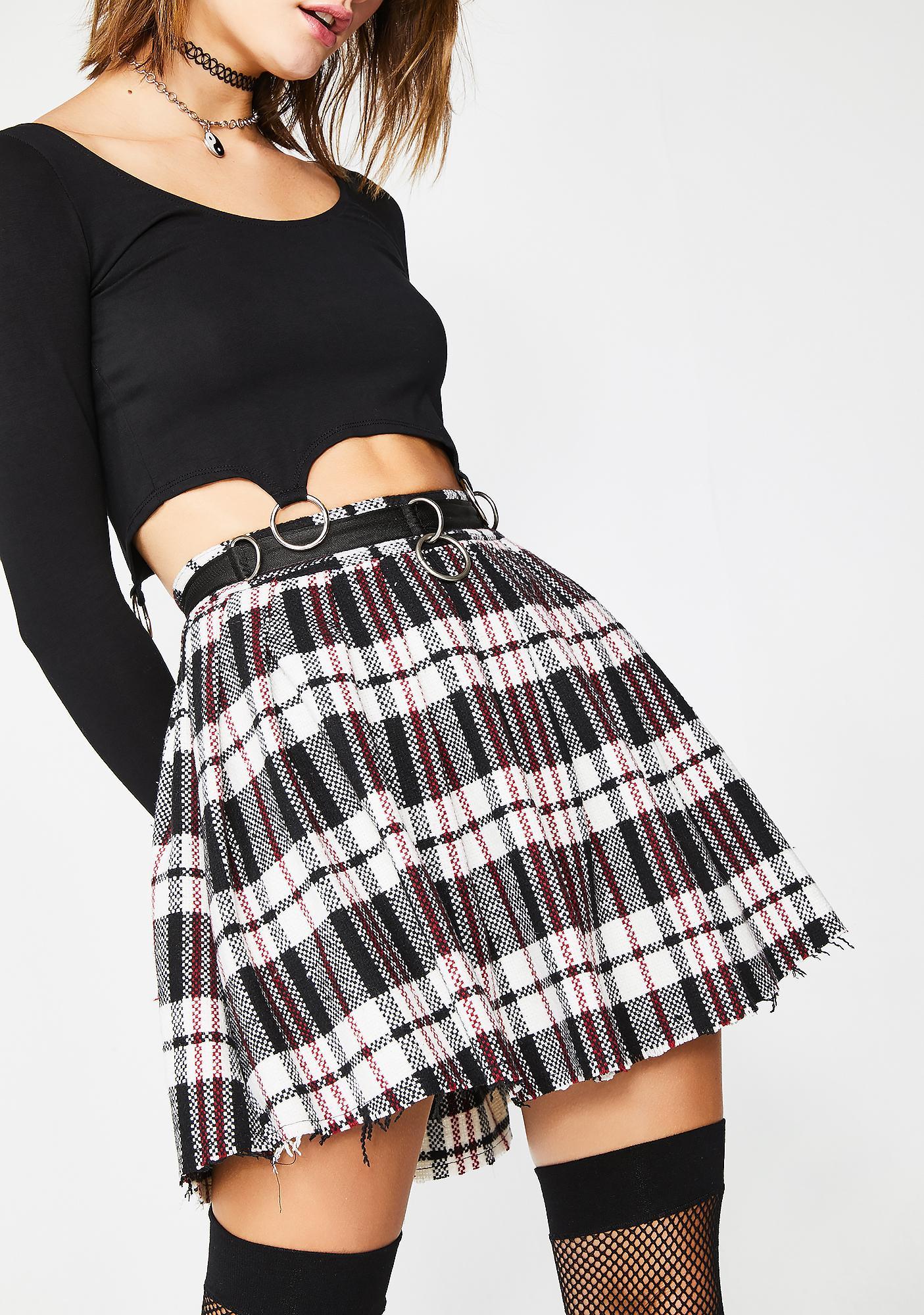 Current Mood Chill Dress Code Wool Skirt