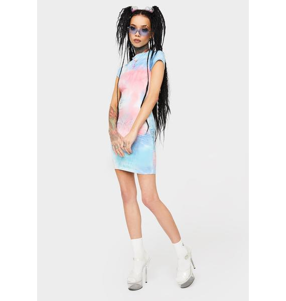 Takin' It Easy Tie Dye Dress