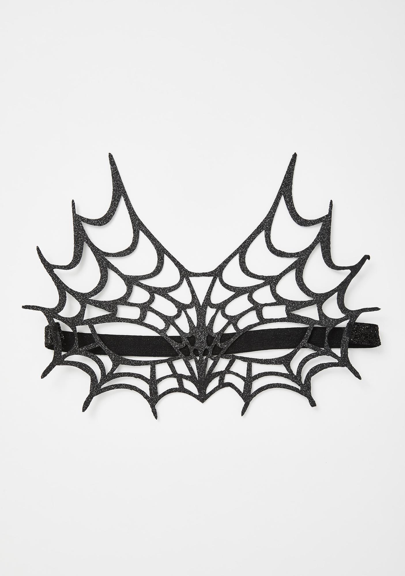 Web Watch Glitter Mask