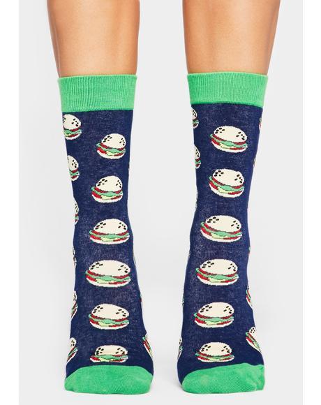 Nice Buns Crew Socks