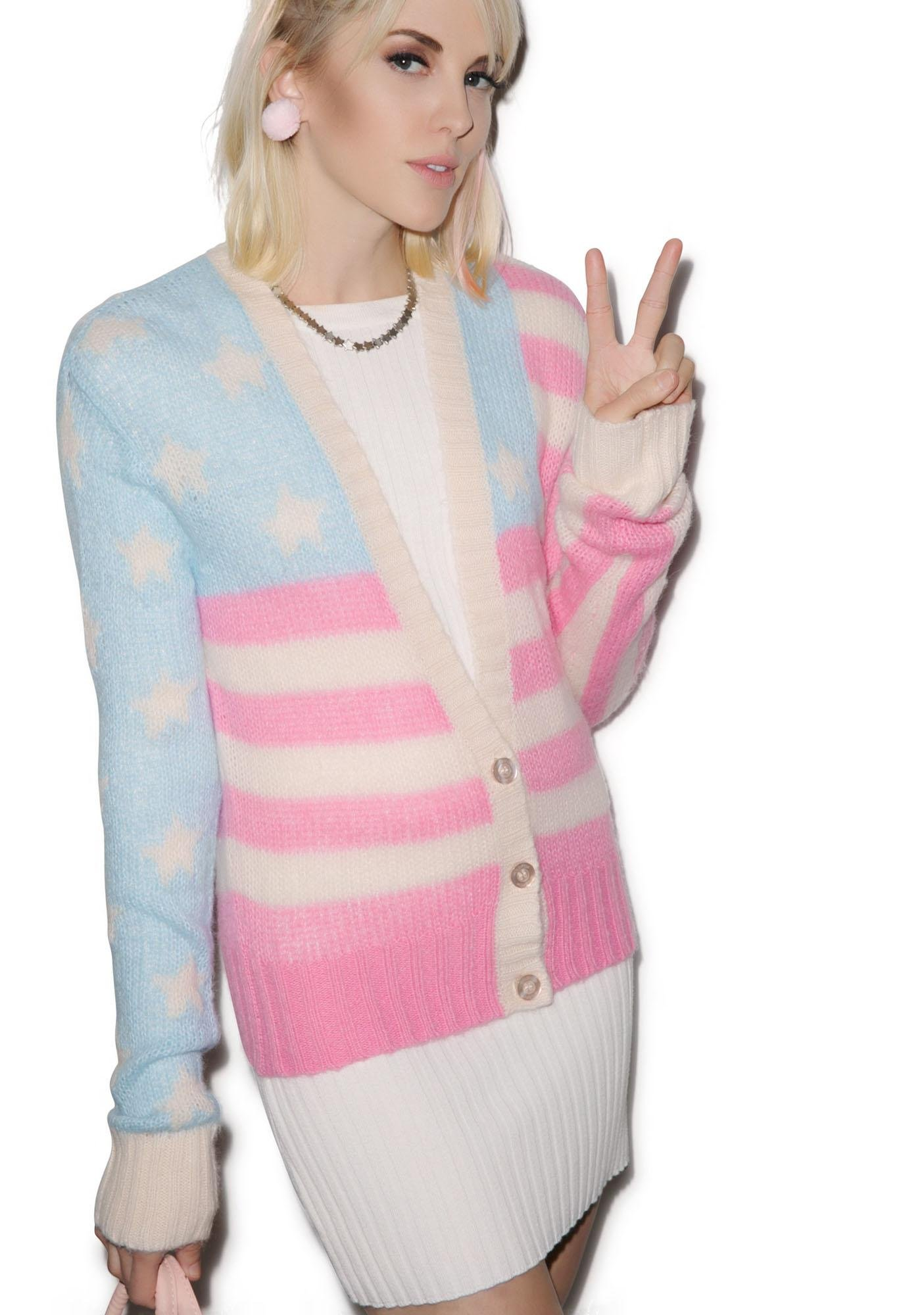 Wildfox Couture American Darling Cardigan