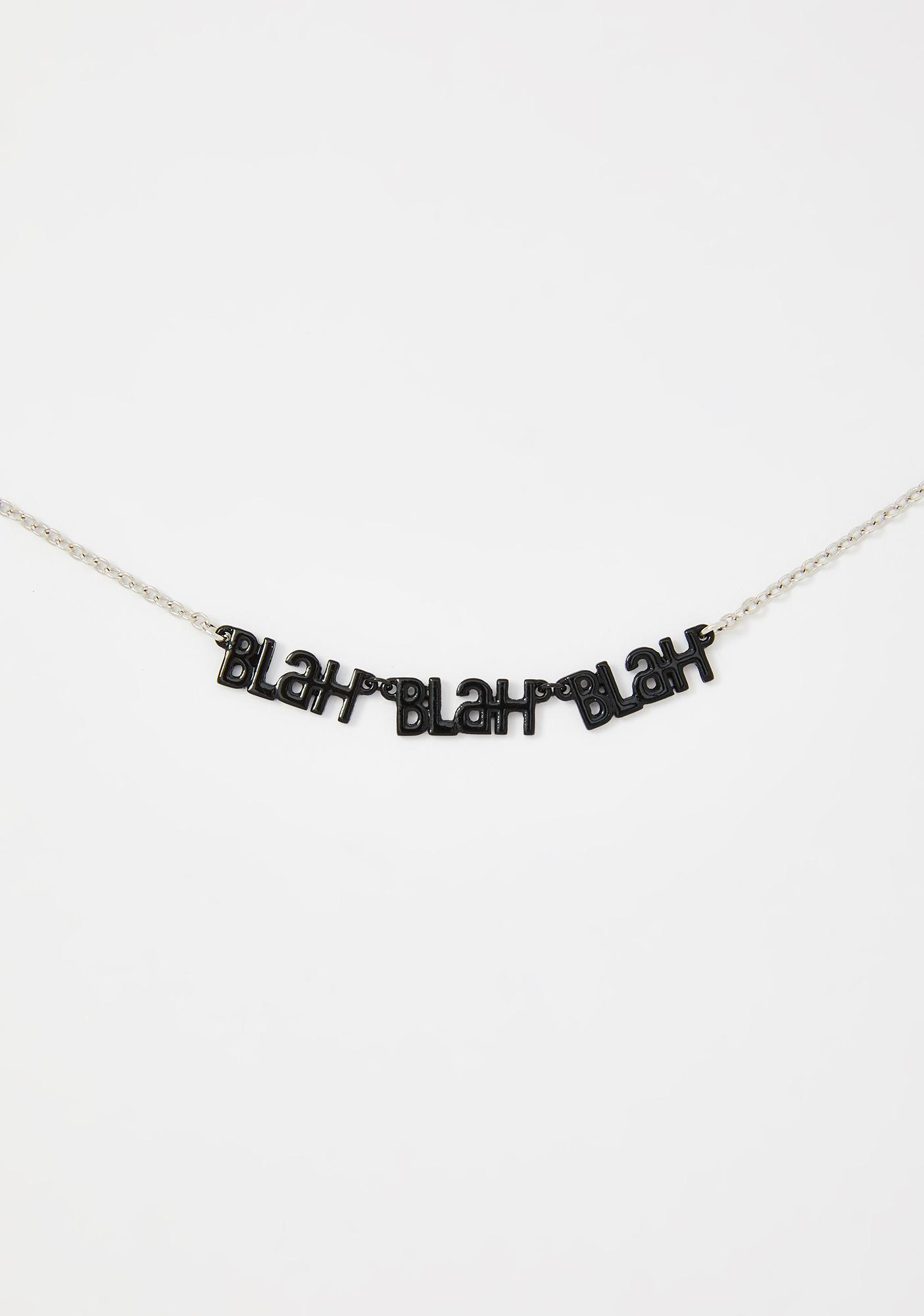 Chatterbox Charm Necklace