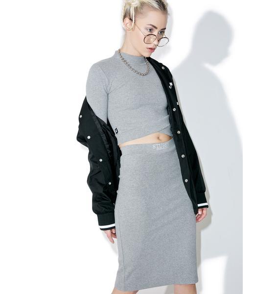 Stussy Lockwood Midi Skirt