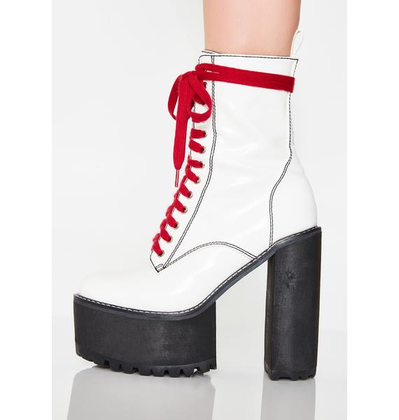 Current Mood Icy Low Nancy Boots