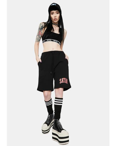 OG Satan Athletic Sweatshorts