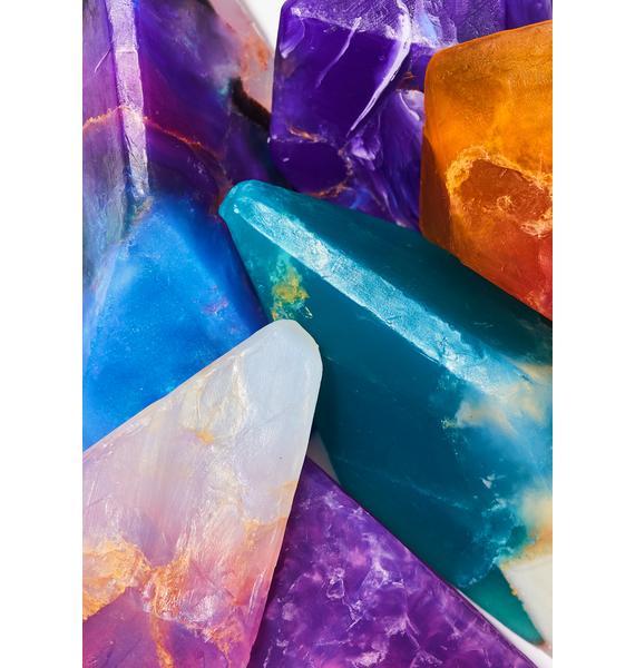Manifest Amethyst Crystal Soap