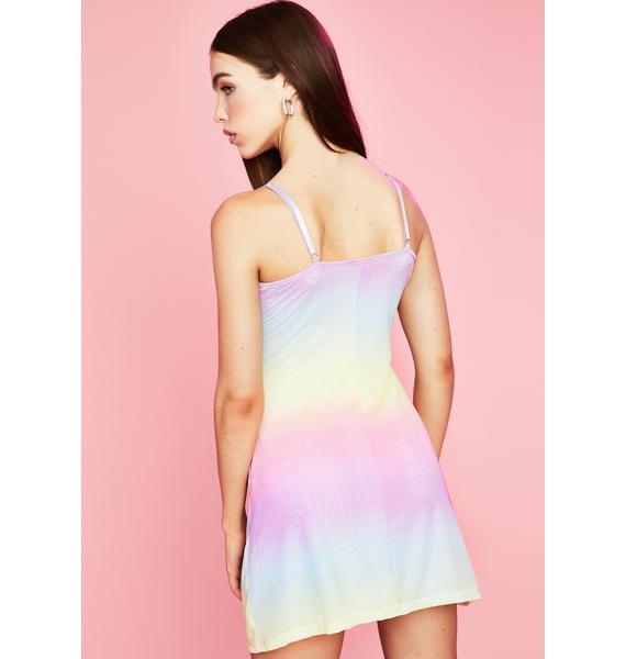Sugar Thrillz Sweet Nectar Slip Dress