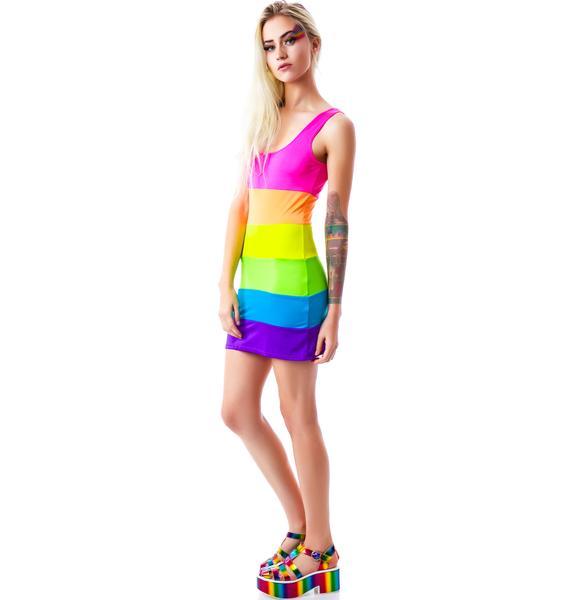 Kandi Land Spandex Mini Dress