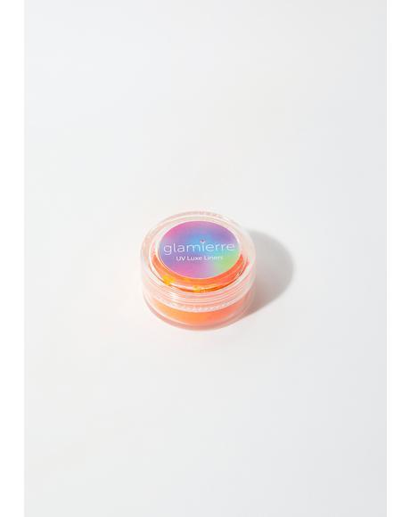 Orange Splash Neon UV Luxe Liner
