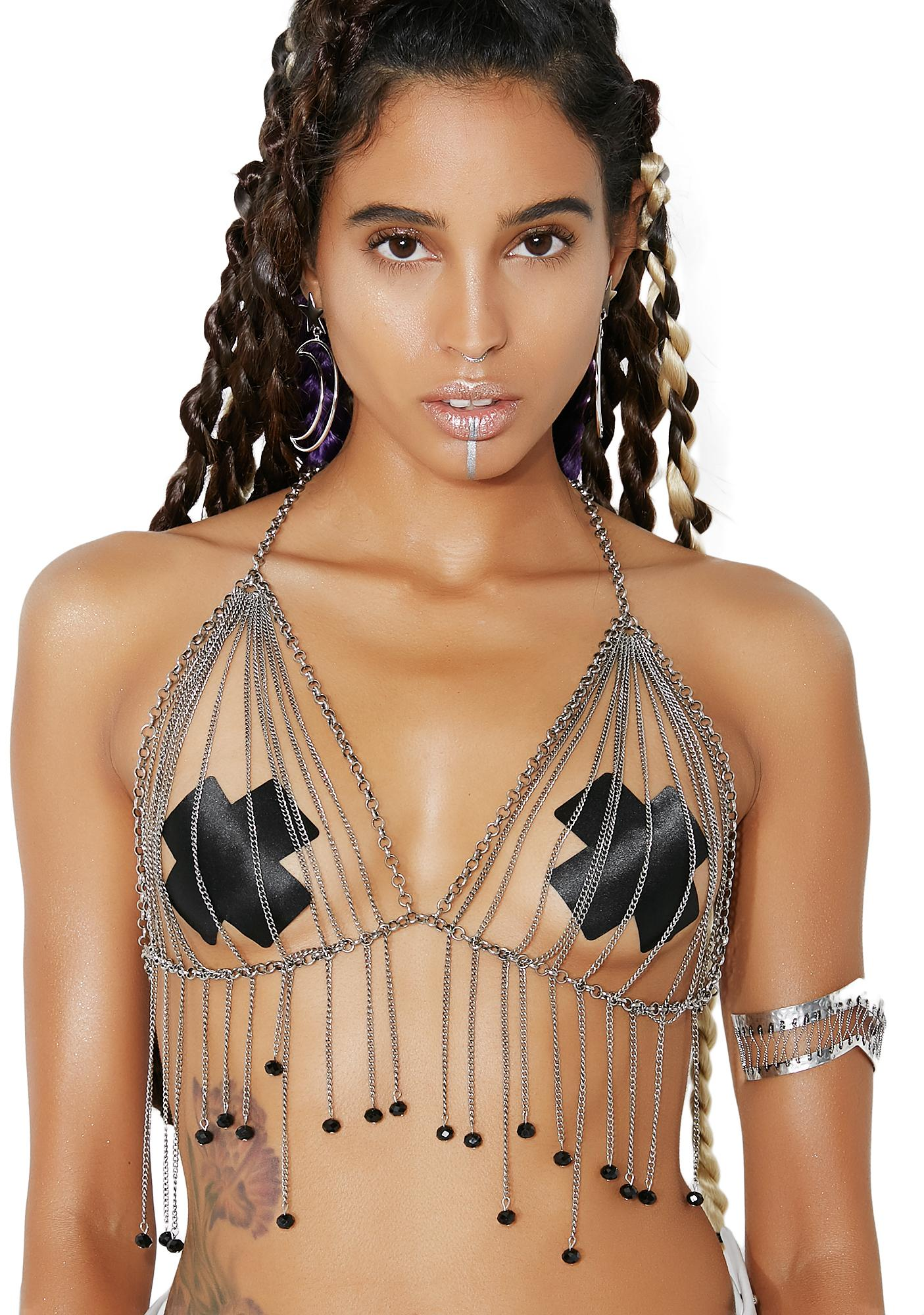Chasin' Waterfalls Chain Bralette
