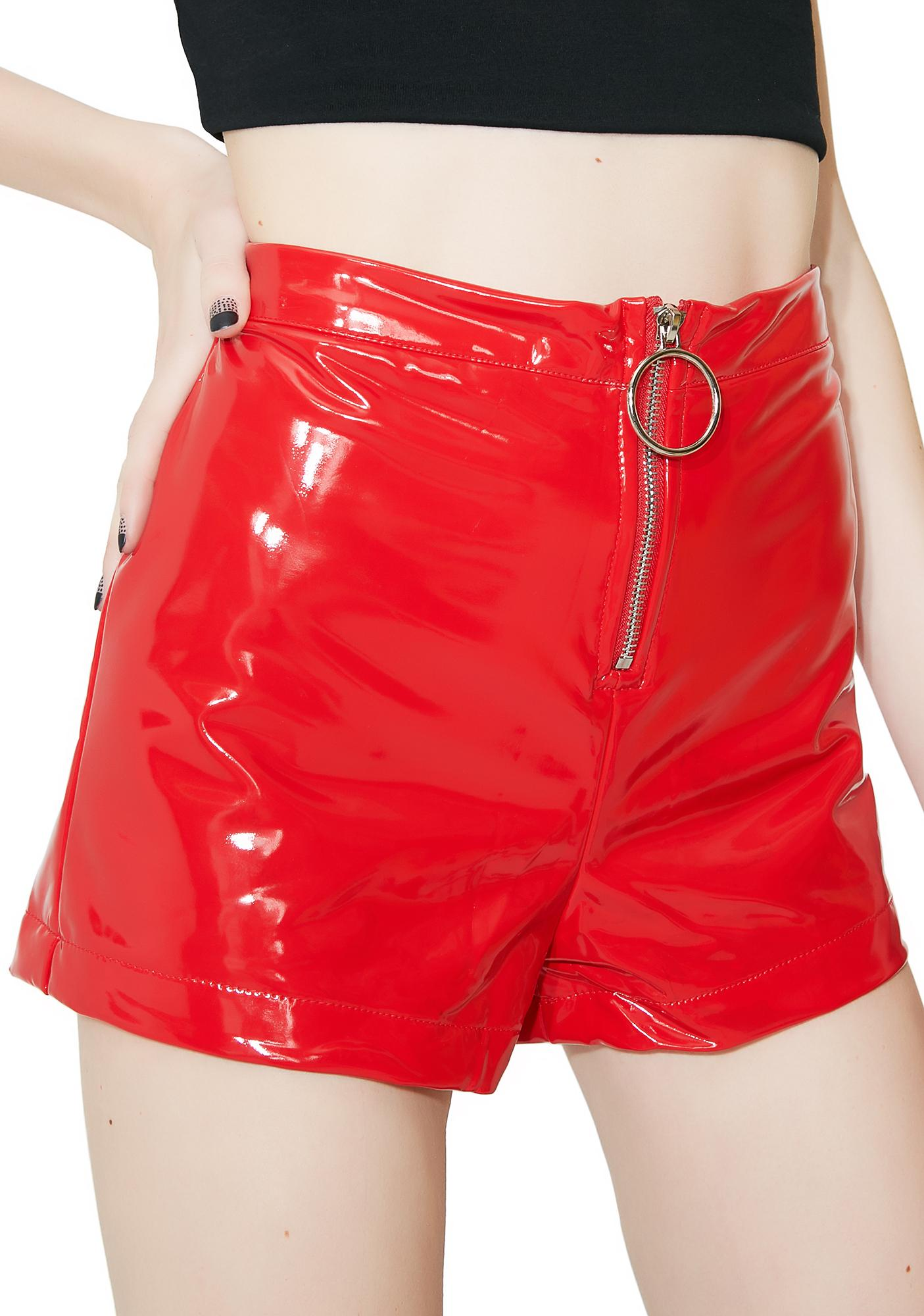 Cherry Show You Up O-Ring Shorts