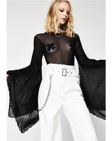 Bad Romance Bell Sleeve Bodysuit