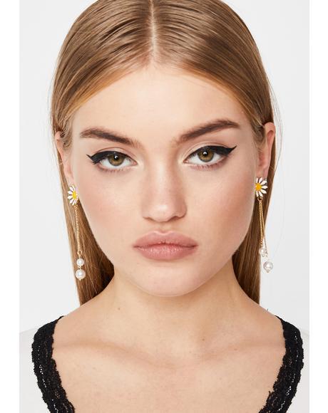 Daisy Dazed Drop Earrings