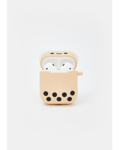 Pearl Boba Tea Airpods Case