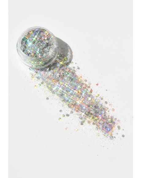 Mykonos Holographic Eco Glitter