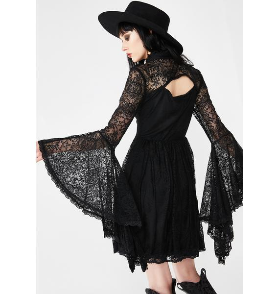 Killstar She's Stardust Lace Dress