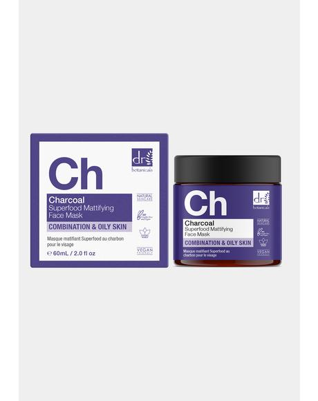 Charcoal Superfood Mattifying Face Mask