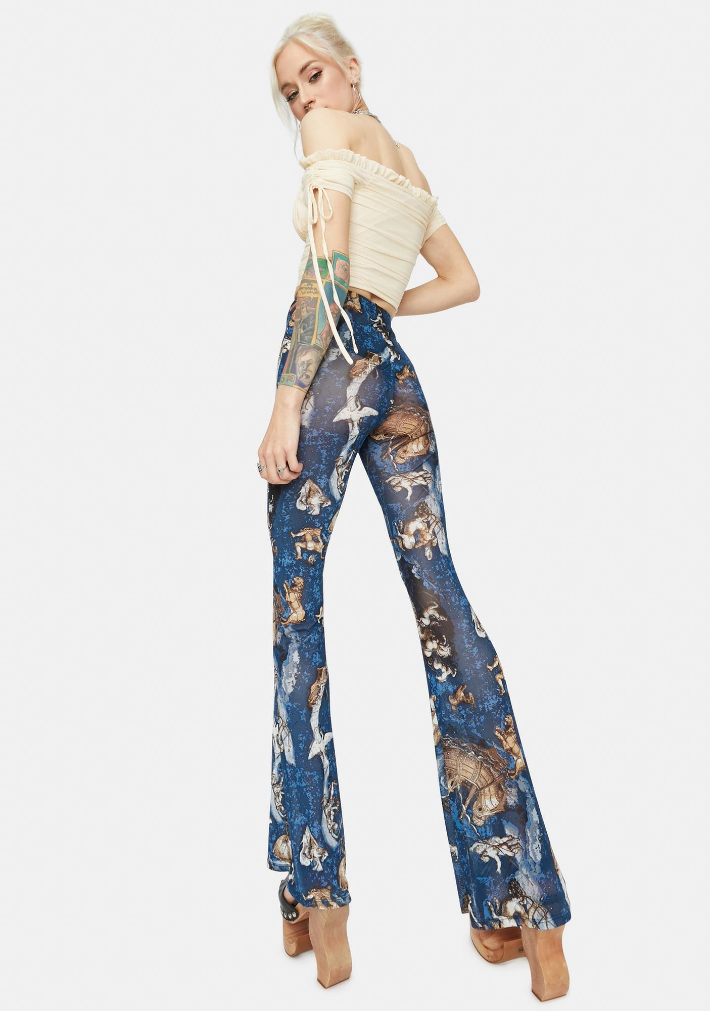 Celestial Energy Flare Pants