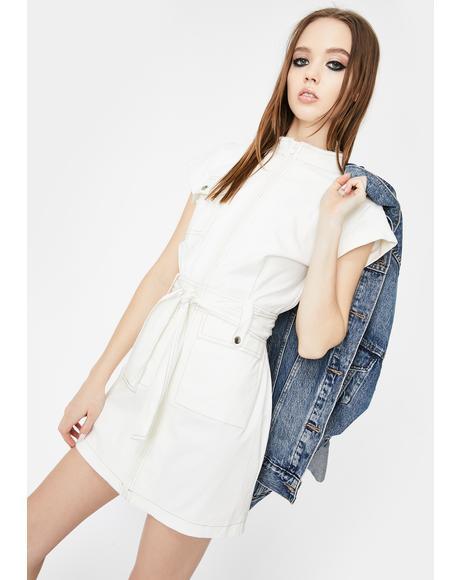 Cargo Mini Dress