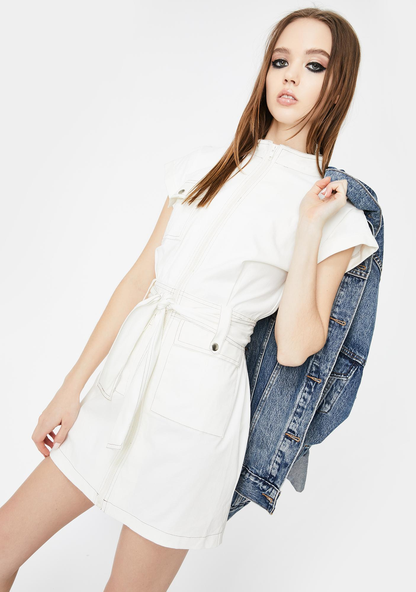 SNDYS. THE LABEL Cargo Mini Dress