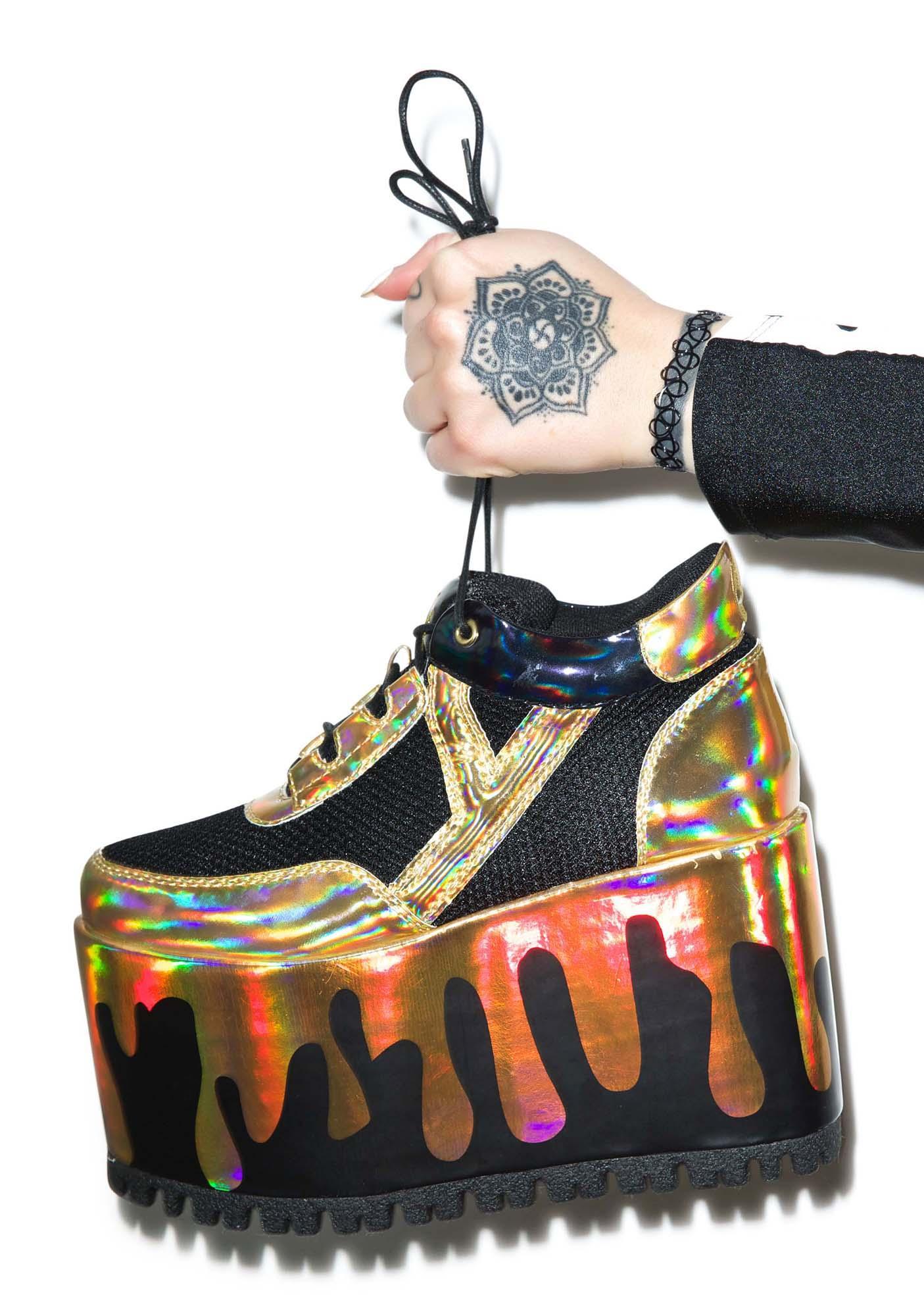 Y.R.U. Qozmo Lo Matrix Platform Sneakers