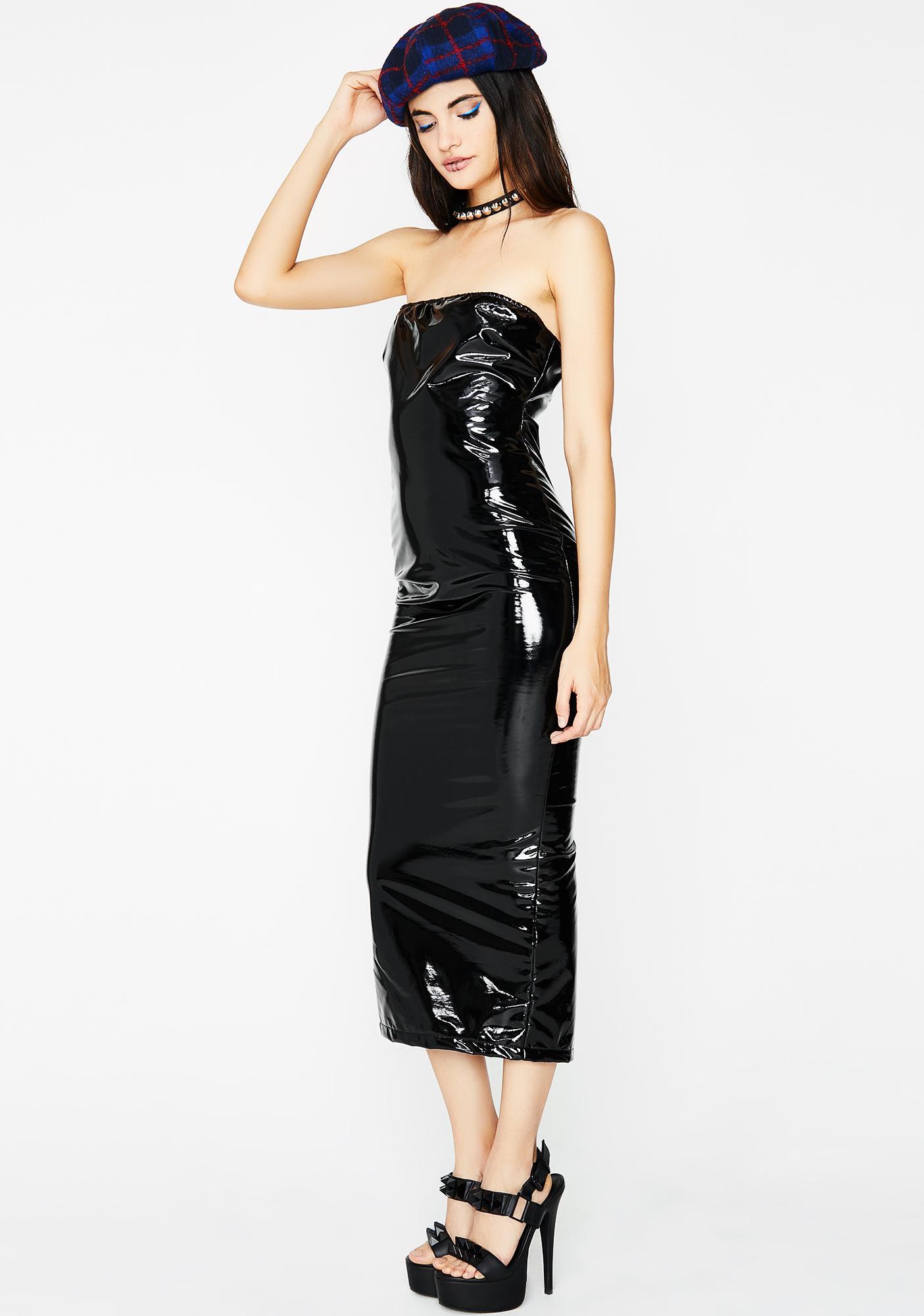 Midnight Beautiful Stranger Strapless Dress