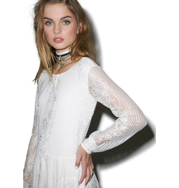 For Love & Lemons Lolo Lace Dress