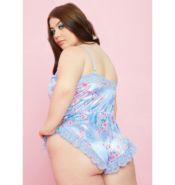 Sugar Thrillz Divine Finding Eden Satin Teddy