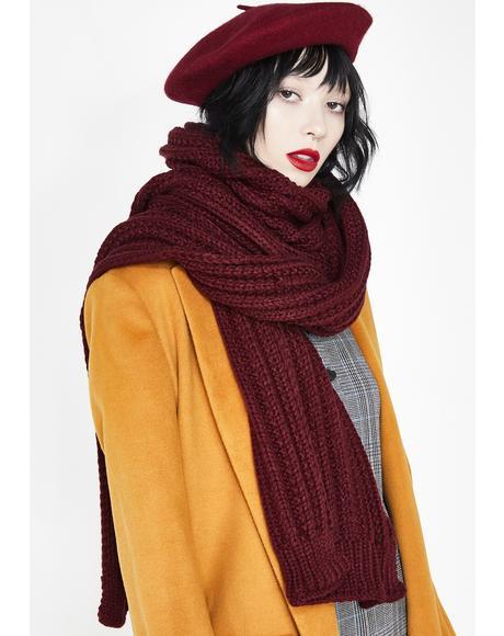 Cozy Chic Knit Scarf