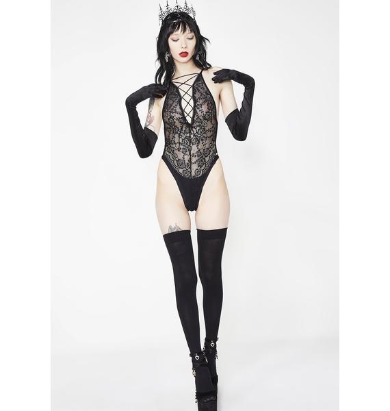 Sugar Thrillz Divine Bloodline Lace Bodysuit