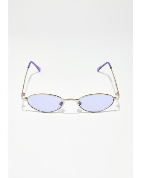 Purp Automatic Charm Sunglasses