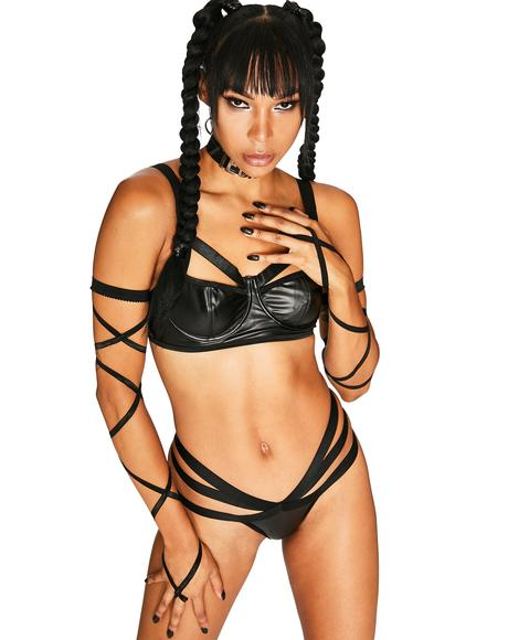Shattered Reality Bra Set