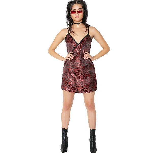 O Mighty Feng Wrap Dress