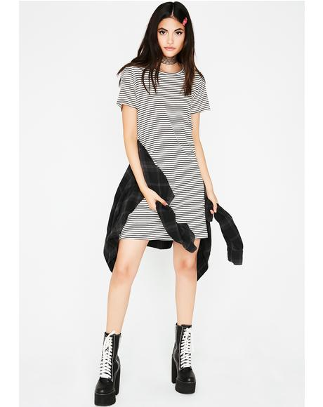 Here To Stay Tee Dress