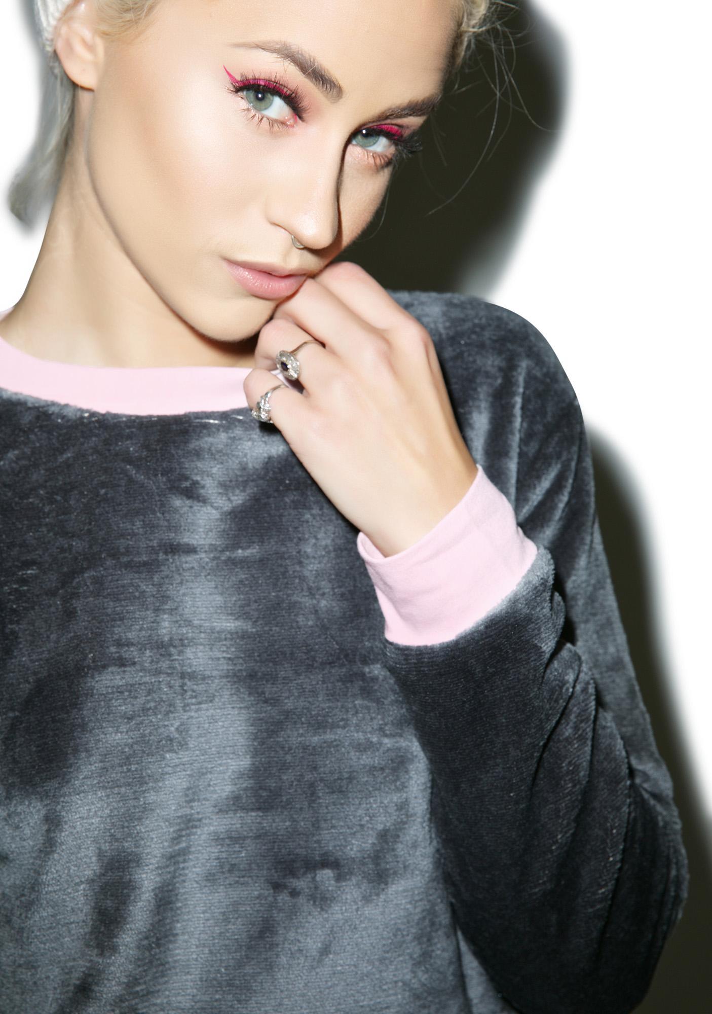 Mink Pink Breakfast Club Sweater