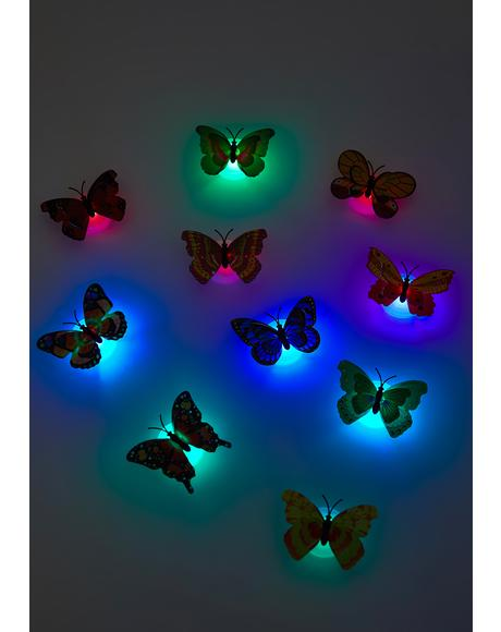 Catch My Breath Butterfly String Lights