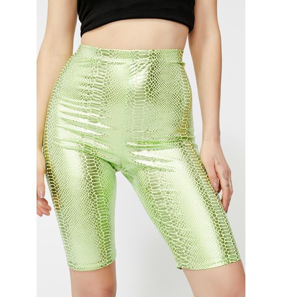 Radiation Fixation Biker Shorts