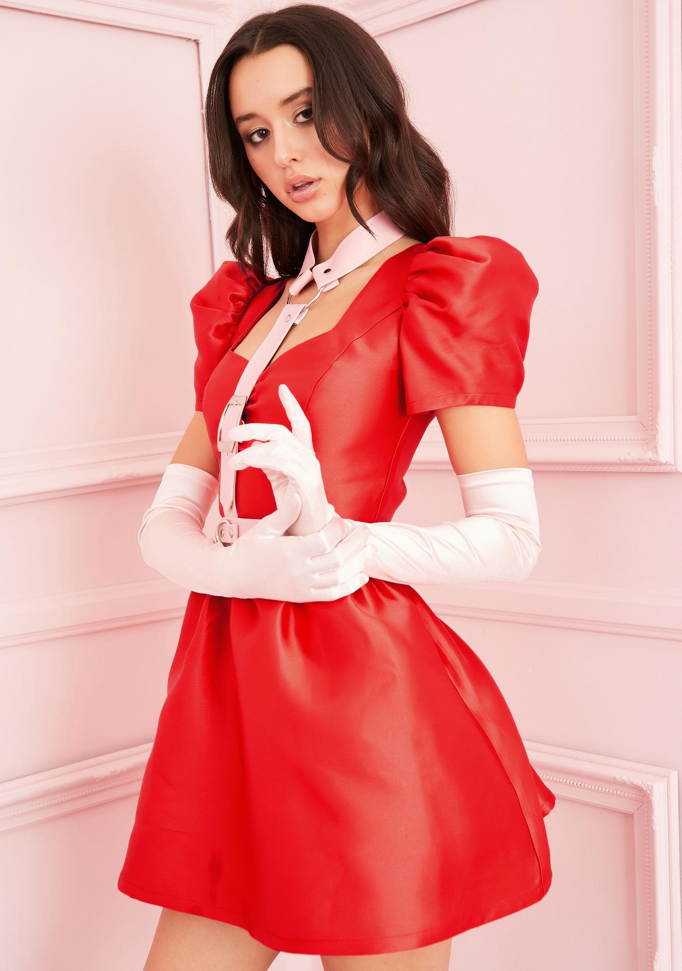 Sugar Thrillz Love Your Everything Satin Dress
