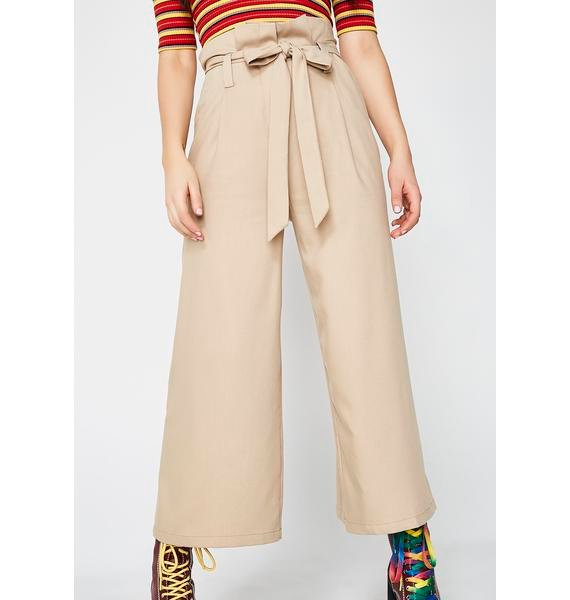 It'z A Cinch Khaki Trousers