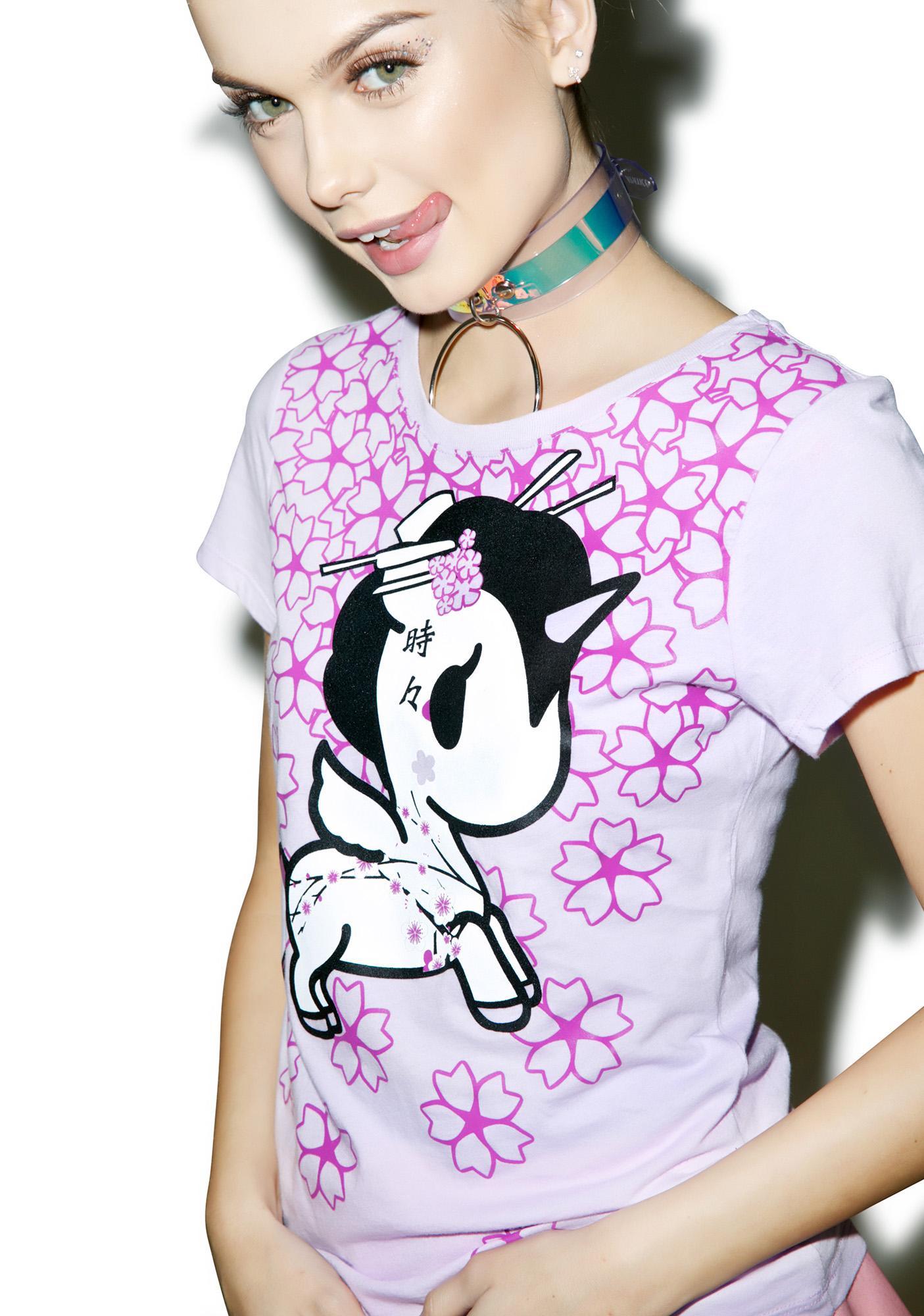 Tokidoki Viola Sakura T-Shirt