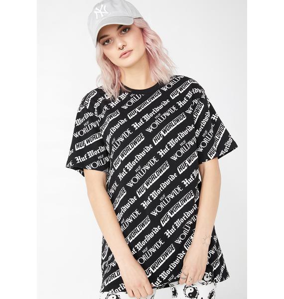 HUF Fake News Short Sleeve T-Shirt