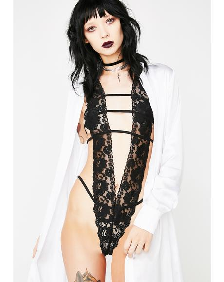 V Is For Vixen Lace Bodysuit